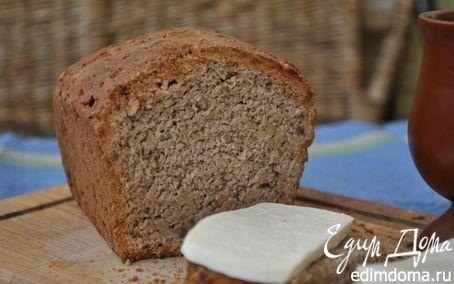 Рецепт Пшенично-ржаной хлеб с орехами