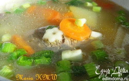 Рецепт Супчик питательный на говяжьем бульоне