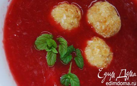 Рецепт Фруктовый суп с творожными шариками