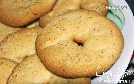 Рецепт Печенье «Ванильные колечки»