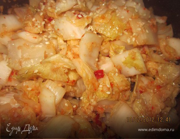 Кимчхи из пекинской капусты