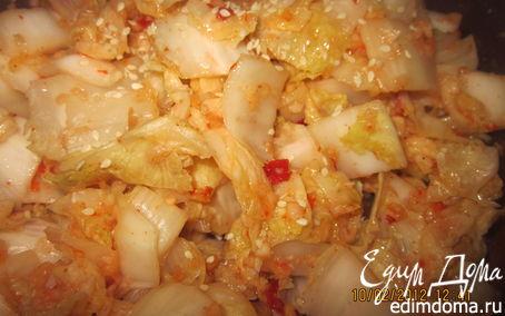 Рецепт Кимчхи из пекинской капусты