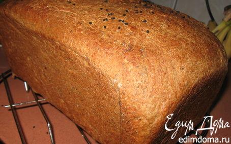 Рецепт Ржаной хлеб на квасу в хлебопечке