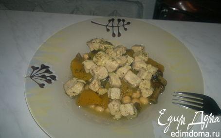 Рецепт Нутовая похлебка со свининой и тыквой