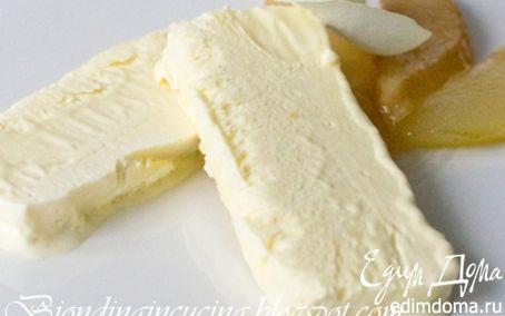 Рецепт Парфе с медом и карамелизированными грушами