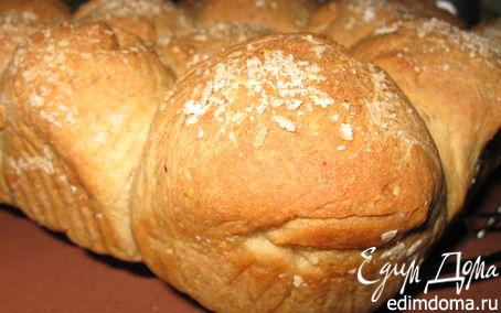 Рецепт Булочки с овсяными хлопьями в хлебопечке