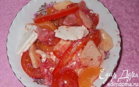 """Рецепт Пикантный салат с сыром """"Delissir"""""""