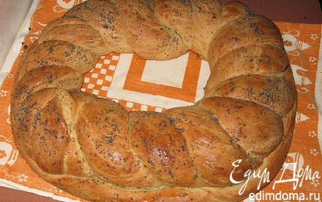 Рецепт Хлебушек с ветчиной и сыром в хлебопечке