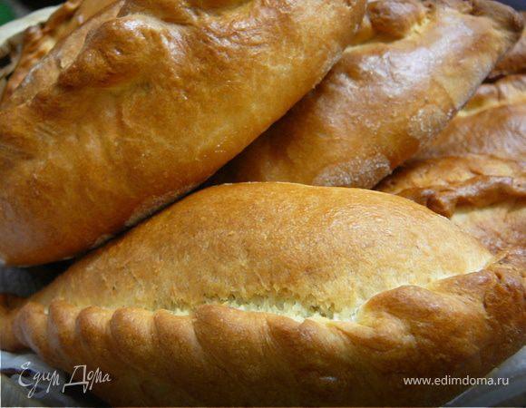 Пирожки с грибами и зеленой гречкой