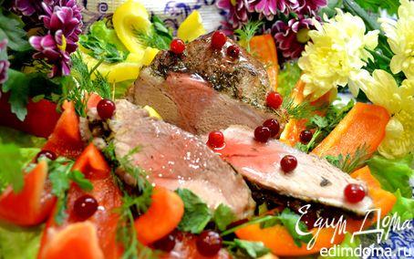 Рецепт Свинина с Болгарским перцем