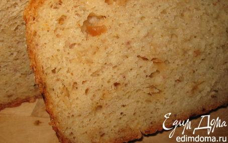 Рецепт Сырно-овсяный хлеб на кефире с луком и орегано в хлебопечке