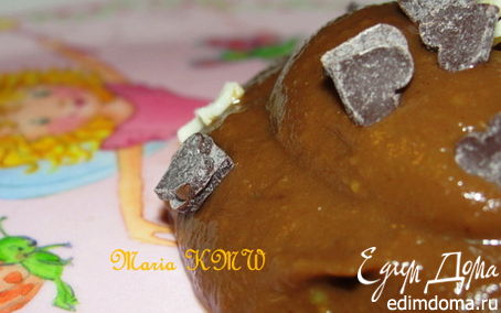 Рецепт Сладкий какао-авокадо крем