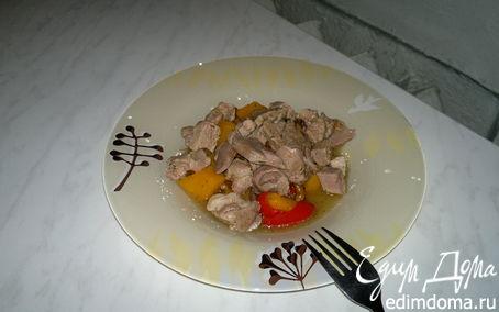 Рецепт Рагу из овощей с бедром индейки