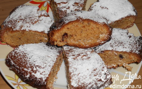 Рецепт Кекс из кукурузной муки
