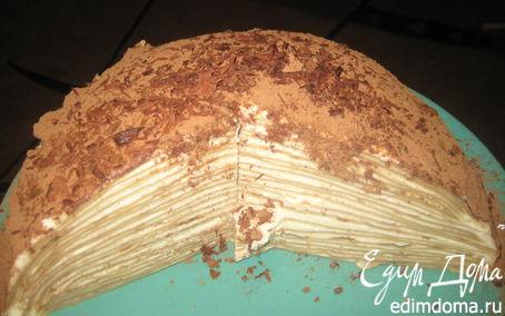 Рецепт Блинный торт со сливочным кремом