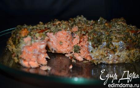 Рецепт Красная рыба в средиземноморском стиле