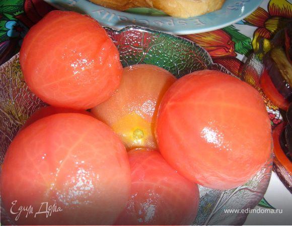 Быстрые маринованные помидорчики