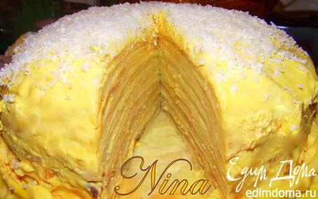 Рецепт Блинный торт на белковых блинах