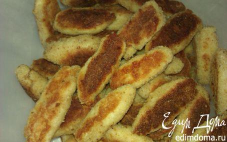 Рецепт Куриные палочки, пальчики или наггетсы