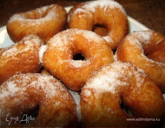 Как сделать пончики в домашних условиях рецепт с фото пошагово