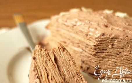 Рецепт Блинный торт с творожным кремом