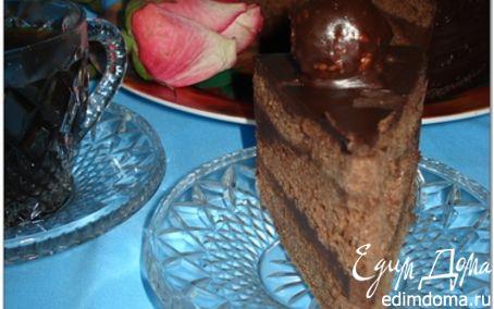 """Рецепт Торт """"Шоколадно-шоколадный"""" (или еще одна вариация Трюфеля)"""