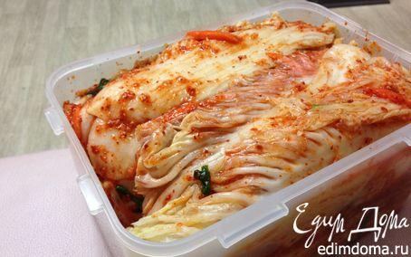 Рецепт Традиционное корейское кимчи