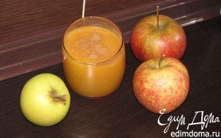 Рецепт Смузи - яблочное настроение!