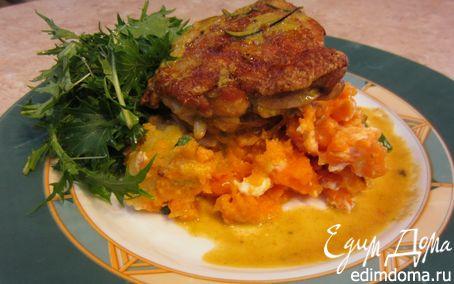 Рецепт Картофель и батат с сыром фета от Джейми Оливера