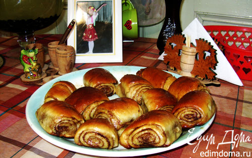 Рецепт Булочки с корицей (Cinnamon Rolls)