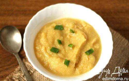 Рецепт Суп-пюре с нутом и капустой