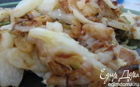 Рецепт Жареная капуста с картошкой