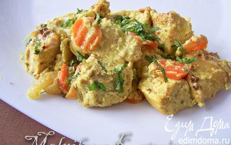Рецепт Куриное филе в кориандровом соусе