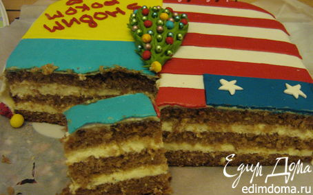 """Рецепт Кокосовый торт с кремом баваруа (+ Бонус """"Торт с кофе и кардамоном"""")"""