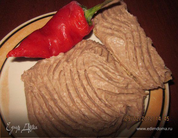 Фасолевый паштет с начинкой