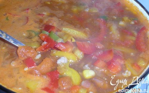 Рецепт – Острый мексиканский суп