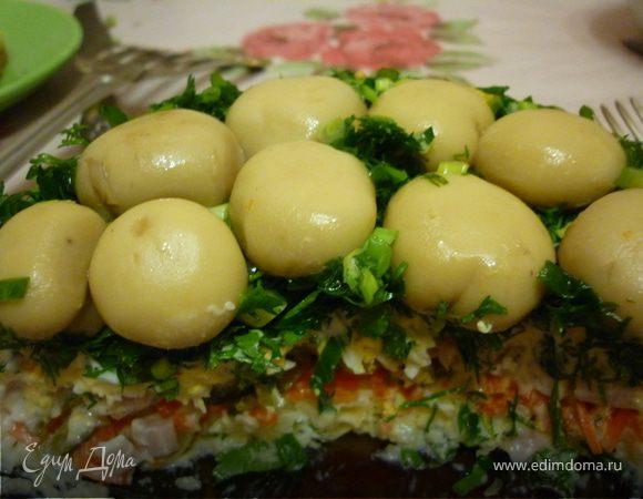 едим дома рецепты салат грибная