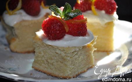 Рецепт Чайный торт с ягодами-Spoonful of sugar teacakes