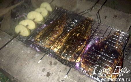 Рецепт Скумбрия на решетке