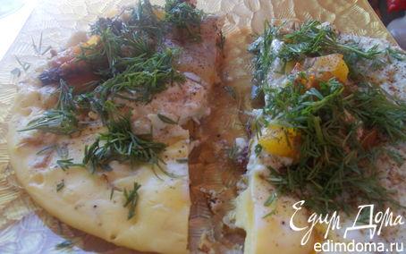 Рецепт Яичница по-болгарски на завтрак