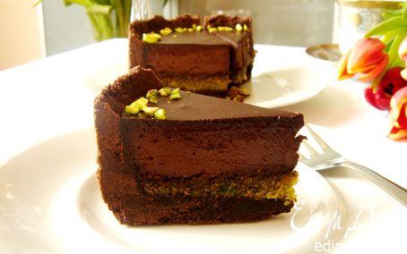 Рецепт Шоколадно-фисташковый торт