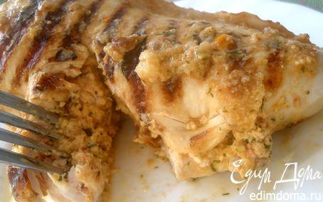 Рецепт Кармашки-гриль с фетой и томатами