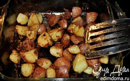 Рецепт Жареный золотой картофель