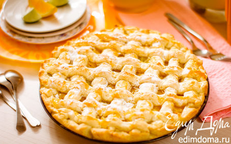 Рецепт Пирог с апельсином и лаймом