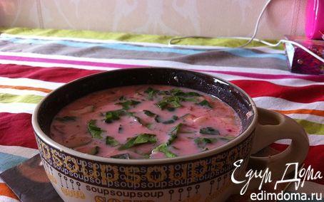 Рецепт Легкий супчик на кефире
