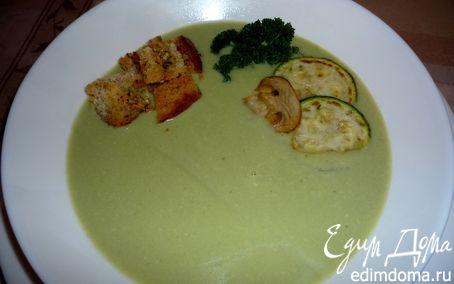 Рецепт Крем-суп из кабачков и грибов