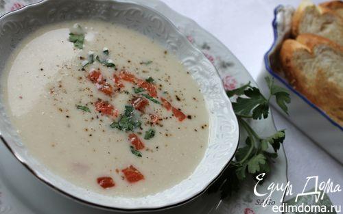 Рецепт Вишисуаз из цветной капусты и сёмги