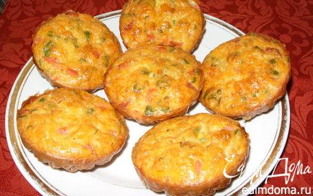Рецепт Маффины закусочные