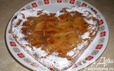 Рецепт Пирог-запеканка из батона с яблоками