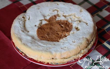 Рецепт Яблочный торт с корицей и мускатным орехом